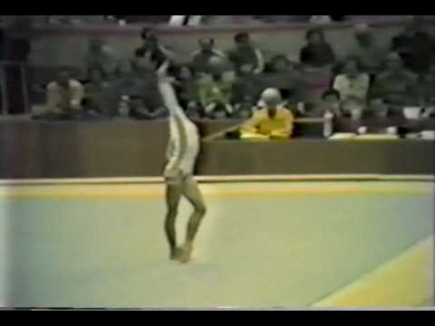 2nd T ROM Nadia Comaneci FX - 1980 Olympic Games 9.900