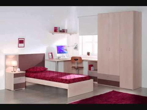 8 dormitorios juveniles modernos mobles youtube - Muebles dormitorios juveniles modernos ...