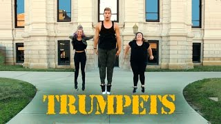 #TrumpetsChallenge | Sak Noel & Salvi feat. Sean Paul | The Fitness Marshall | Cardio Hip-Hop
