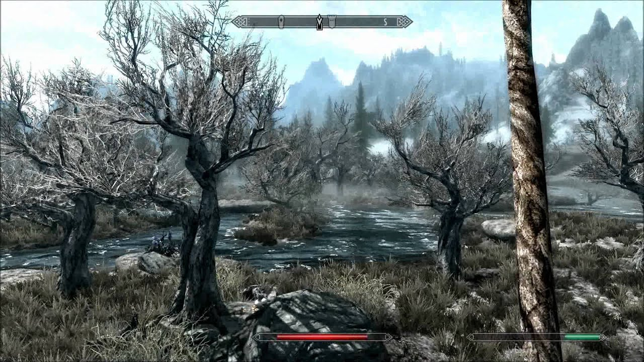 Max Settings Skyrim Skyrim Max Settings Gameplay