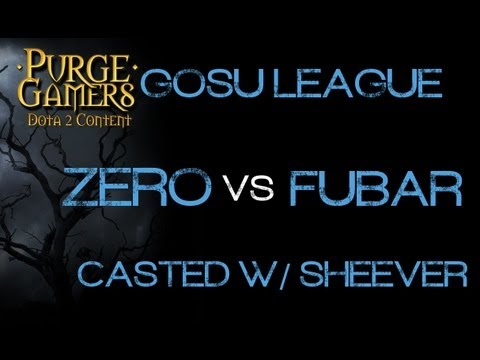 Zero vs FUBAR g1 GosuLeague w/ Sheever