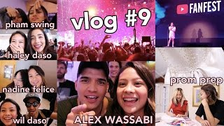 Youtube Creator Camp, Fanfest + PROM DRESS? + School Day | Hannah Kathleen | Vlog #9