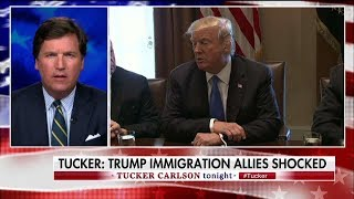 Tucker Carlson Criticizes Trump WH Meeting
