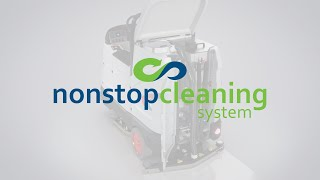 Comac Non Stop Cleaning – Scrubbing machine water recycling technology explained