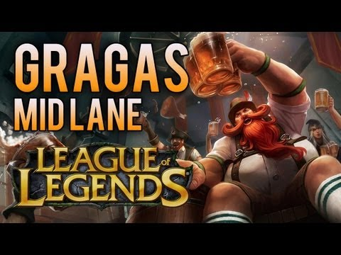 Gragas Mid Lane (How To Play AP Gragas) - League Of Legends