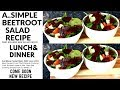 A..SIMPLE BEETROOT SALAD RECIPE For Lunch | Chef Ricardo Cooking