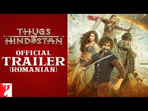 Romanian: Thugs Of Hindostan Trailer | Amitabh Bachchan | Aamir Khan | Katrina Kaif | Fatima