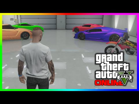 "GTA 5 ""MrBossFTW"" Super & Sports Cars Garage Tour - ALL Rare Modded Colors! (GTA V)"
