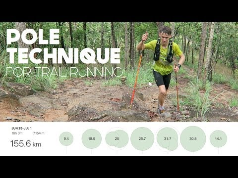 Trail Running with Poles + Technique Tips | Training for Eiger 101 (2/4)