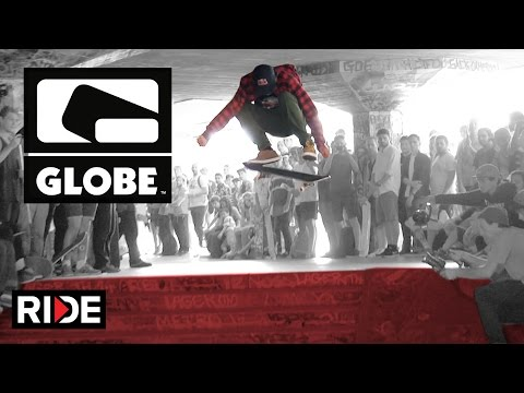 David Gonzalez, Ryan Decenzo, Mark Appleyard at Globe Demo Southbank London