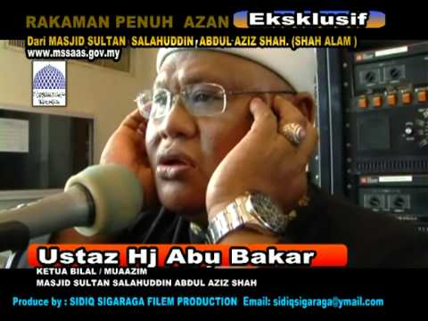 Azan Bilal Hj Abubakar video
