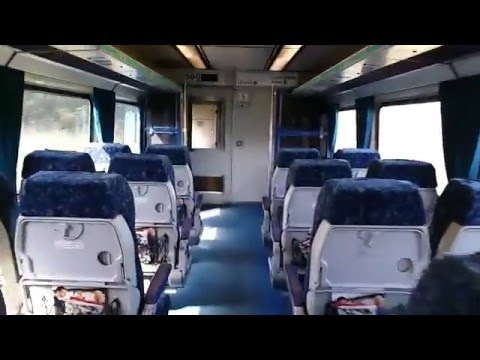 NSW TrainLink Xplorer Empty Economy Class Carriage Interior