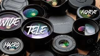 Sandmarc vs Moment: All Lenses Compared! The Best Smartphone Lenses are...