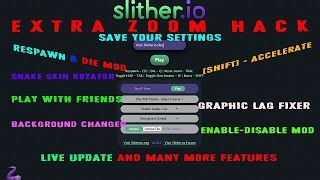 slither.io | NEW BEST MOD | НОВЫЙ МОД