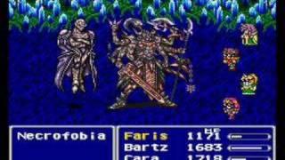 Final Fantasy V - Necrophobia Boss 56