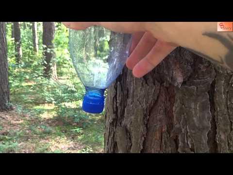 Душ из пластиковых бутылок своими руками видео