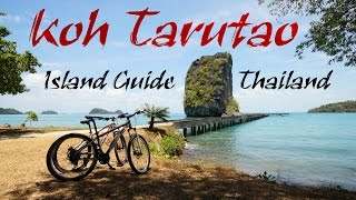Koh Tarutao Island 🌴 GoPro HD | Thailand | Beach, Accommodation & Trip | Backpacker Guide
