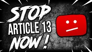 Article 13 Explained and How it will Affect Everyone #SaveYourInternet