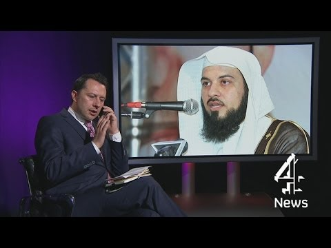 Isis: Meet the cleric 'encouraging British Muslims' to fight jihad | Channel 4 News