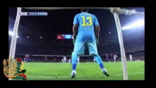هدف ماندزوكيتش اتليتكو مدريد ضد برشلونة رؤوف خليف 2-1 12/1/2015 goal Mandžukić against Barcelona