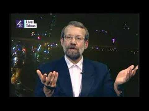 Channel 4: Jon Snow interviews Ali Larijani - Part 1