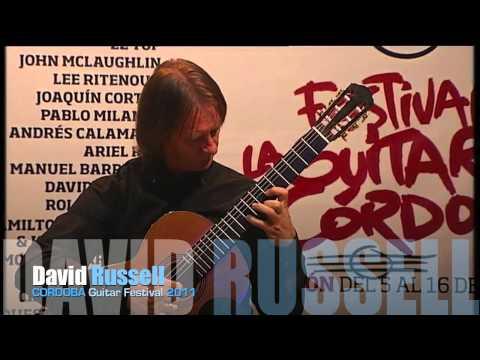 David Russell - Cordoba Guitar Festival 2011