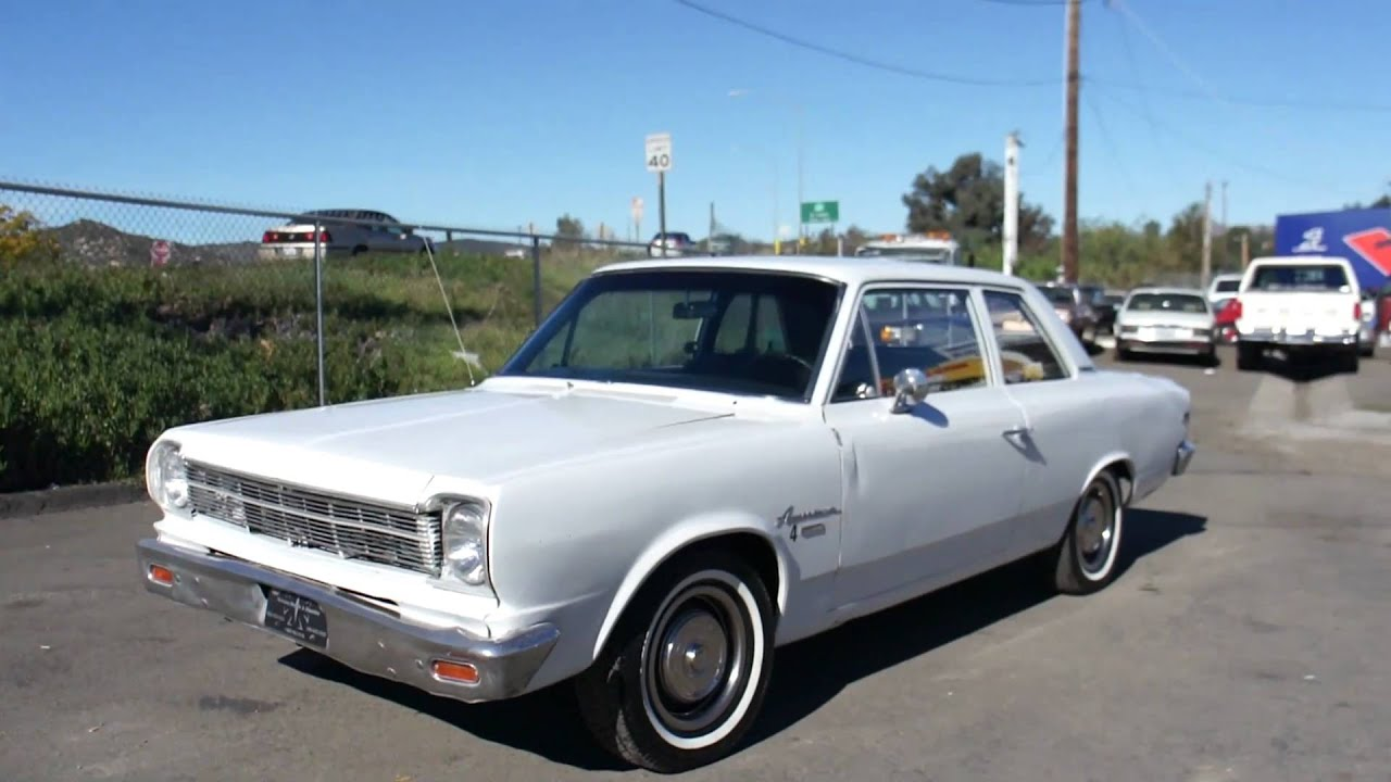 1968 amc rambler muscle car s crambler clone s c american for American classic motors for sale