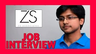 ZS Associate Interview | Case Study | Case Interview - suggestion and tips
