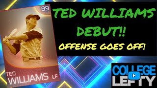 IMMORTAL TED WILLIAMS DEBUT!! IMMORTAL TEAM GOES OFF!! MLB THE SHOW 18