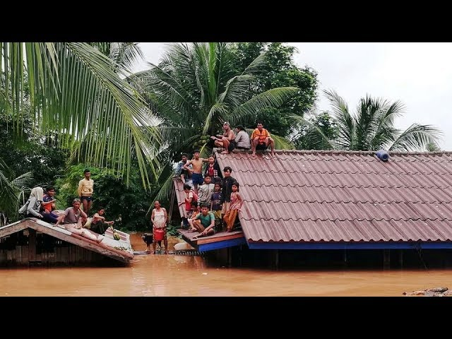 Hundreds missing in Laos after hydroelectric dam collapses