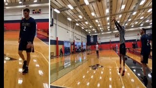 Lonzo Ball X Brandon Ingram Shooting Threes Together! | Pelicans All Access |