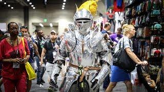 Adam Savage Incognito as King Arthur at Comic-Con 2017!