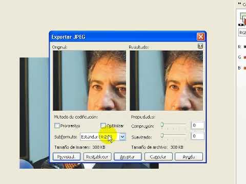 Tutorial recorte de fotos en Corel Photo Paint
