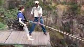 Gorge Swing Victoria Falls Flavia
