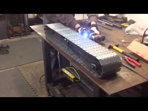 Weiss Boys - Manitowoc 4100 RC crawler test - 1:8th Scale Model Crane