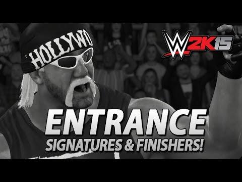 WWE 2K15 PS4/XB1: Hollywood Hulk Hogan Entrance, Signatures & Finishers