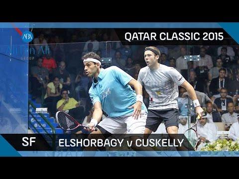 Squash: Qatar Classic 2015 - Men's SF Highlights: Elshorbagy v Cuskelly