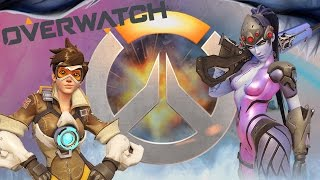 OVERWATCH - LO SPARATUTTO CON LE TE**E!!! (OPEN BETA)
