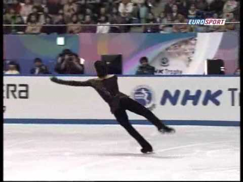 Johnny Weir NHK 2008 - Notre Dame de Paris