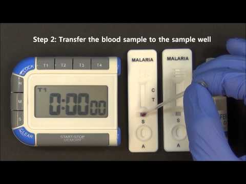 CareStart Malaria HRP2.Pf video instruction (Access Bio, Inc.)