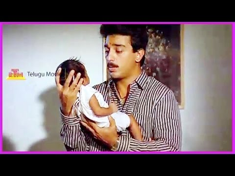Ma Inti Krishnudu Telugu Movie Climax Scene - Kamal Hassan, Radhika, K R Vijaya video