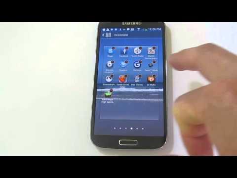 Cómo desinstalar aplicaciones en un Samsung Galaxy S4