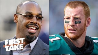 Donovan McNabb didn't owe Eagles fans an apology for Carson Wentz comments - Stephen A. | First Take
