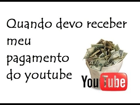 Quando devo receber meu pagamento do youtube / DavidTecNew / PT BR