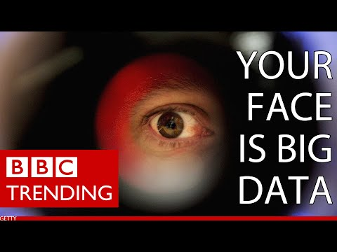 Using facial recognition to identify strangers - BBC Trending