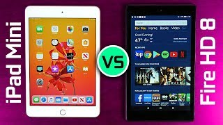 2019 iPad mini vs Amazon Fire HD 8