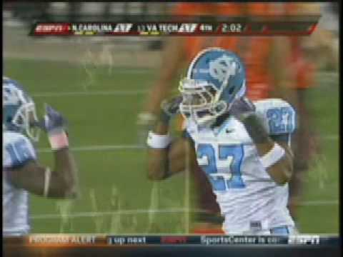 North Carolina Tar Heels Football Defensive Highlights 2009 dem rude boyz Video