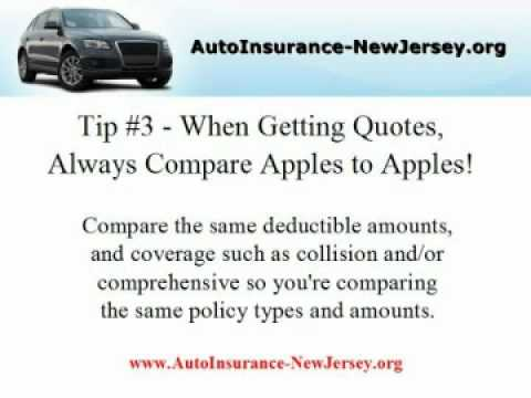 Auto Insurance New Jersey - four  Tips On Locating First-class Automobile Insurance!