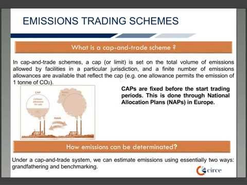 Emissions Trading Schemes (module 2.3)