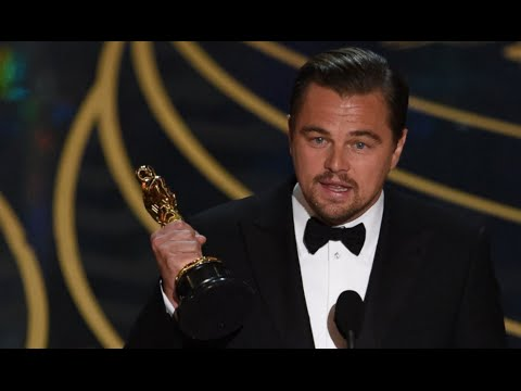 Oscars 2016 | Leonardo Dicaprio ACCEPTANCE SPEECH for Best Actor